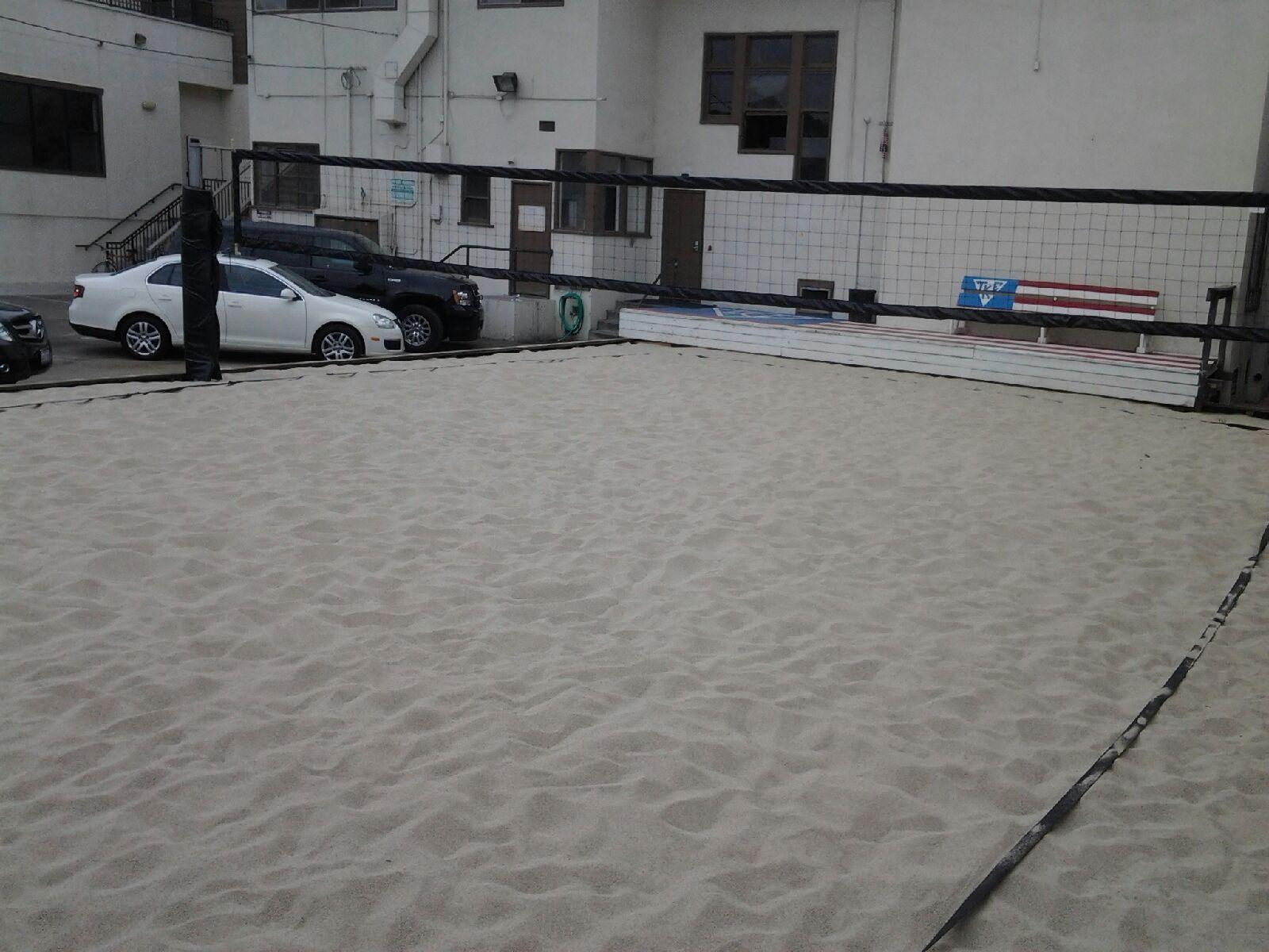 New Volleyball Court TKE