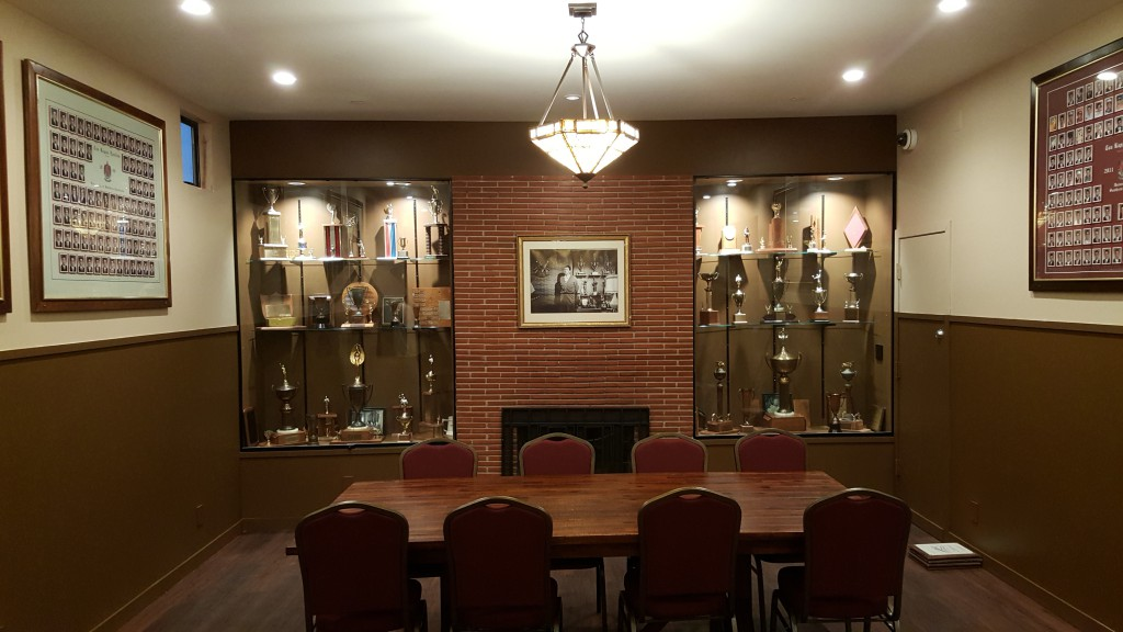 Trophy Cases Installed TKE USC