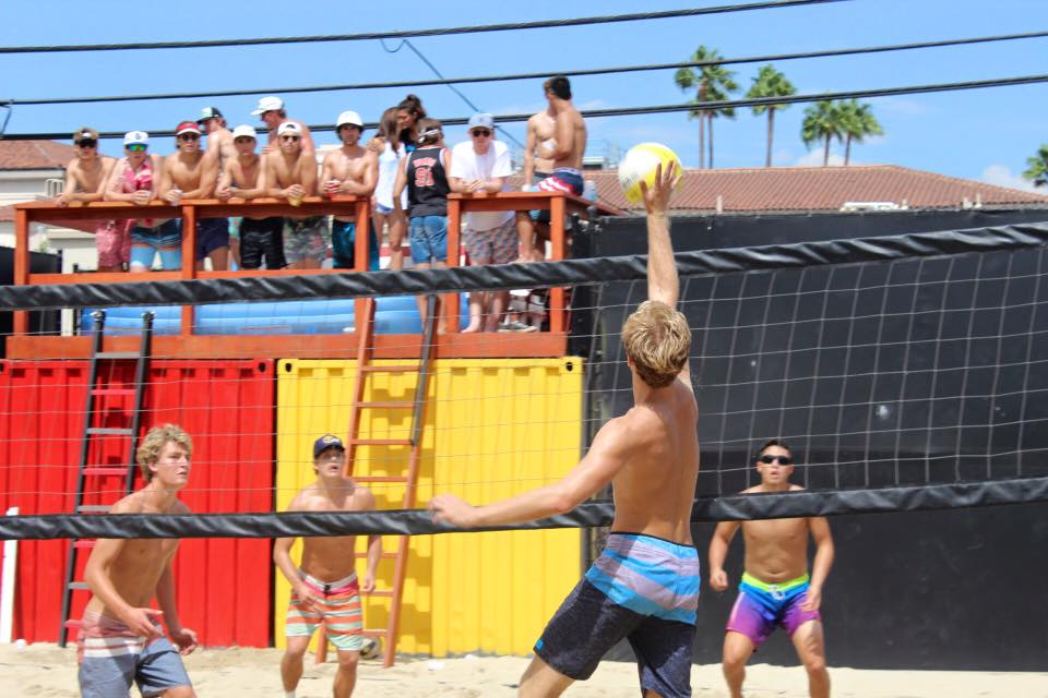 TKE USC Volleyball Deck