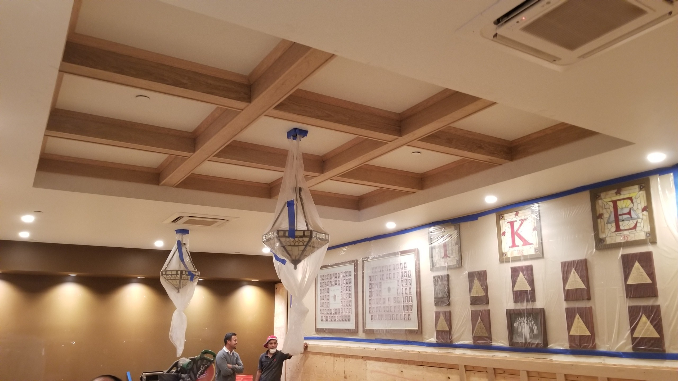 TKE Library Ceiling 2017